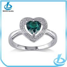 Trending sale wedding occasion rhinestone jewelry heart ring crystal diamond
