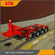 40ft dump container semi trailer container chassis