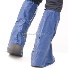 men's high upper PVC Rain shoe cover,bicycle shoes, running shoes