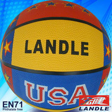 official size new style rubber made basketball size 5