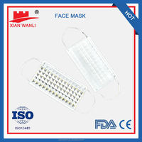 Decorative Medical Face Masks Realistic Latex Face Masks Printed Surgical face Mask