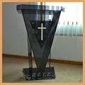 de estilo moderno atril de acrílico transparente para púlpito de la iglesia o la sala de reunión