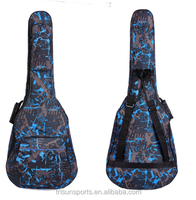 made in China supplier pretty guitar bag with nice print for music lover