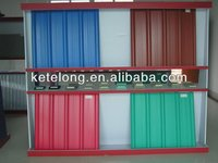 color corrugated plastic roofing sheets