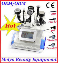 Best selling products in America cavitation Ultrasonic RF Vacuum good for body fitness equipment