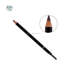 Permanent Eyebrow Pencil Wood or Paper Rolled Eyebrow pencil