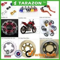 High quality bajaj pulsar spare parts brake lever brake disc ect. for sale