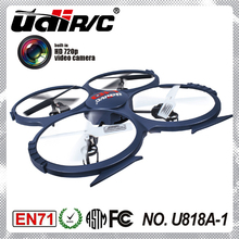 UDI U818A-1 2.4G low battery voltage alarm rc flying toys ufo with camera