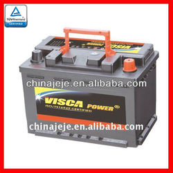 Producing Super Quality Lead Acid Heavy Duty Truck Battery MF56618 12V60AH