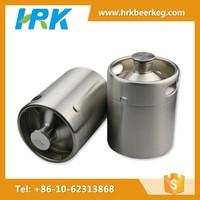 64OZ screw cap bottles stainless steel beer keg