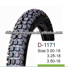 DOOYEAR! best quality Anti-skiding pattern off-road motorcycle tire / tyre 3.00-18 6PR