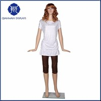 Fahion clothing display props full body adjustable mannequin sale