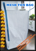 100% pp woven vegetable bag, vegetable FIBC, vented potato jumbo bag factory