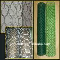 Hexagonal 14 gauge wire mesh