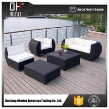 fashion life plastic rattan outdoor sofa