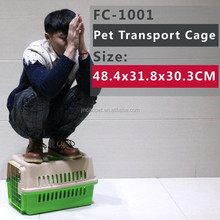 Dog Crate, Single-Door Folding Pet Cage with Crate Tray, Durable & Stonge/ Convenient Carry/ Cleaning Easy/ Comfortable New Desi