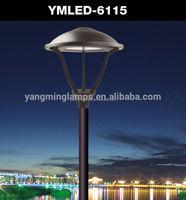 strong led outdoor floor light led post light 240v led garden light/lamp post