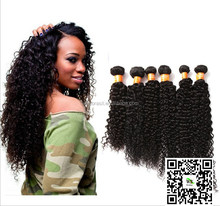 New Arrival 6A Grade Curly Wave Human Hair 100% Virgin Natural Hair 10 inch to 30 inch Black Women's Welf ODM Hair