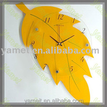 New Design Acrylic wall mounted alarm clock