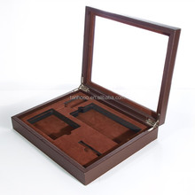 luxury leather wine carrier/cardboard leather wine carrier/metal wine carrier