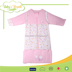 BSB1278 soft nice baby all weather cotton sleeping bags for sale