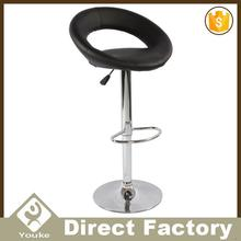 Good quality factory supply ajustable barstool with bentwood