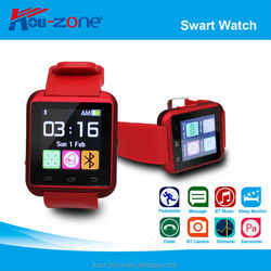 2015 Cheap Touch Screen U8 Smart Watch With Camera,1.44 Inch Bluetooth 3.0 Smart Watch Mobile Phone