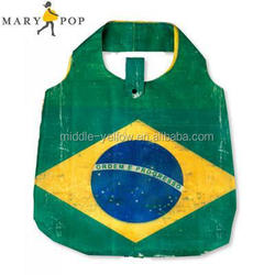 Recycled foldable Shopping Bag with fashion pattern