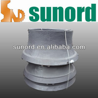 high manganese steel lower concave MC for QH440CH440H4800US440ISC440S4800