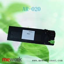 For sharp ar020 ar 5516/5520/5520/5516d toner chip used copier empty cartridge