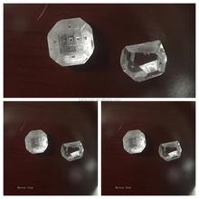 Unpolished White Rough Big Size HPHT Man Made Diamond
