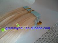 Factory price wholesale 7A hair 100% european hair tape hair extension