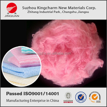 new colored solid pet recycling fibres of china origin