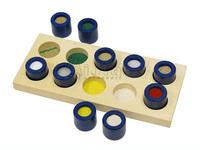 Montessori Wooden Texture Cylinders,montessori materials