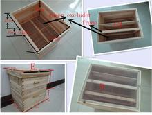 Usine de fabrication beehive, Peut être personnalisé selon les besoins