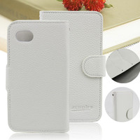 wallet flip leather case for blackberry q5