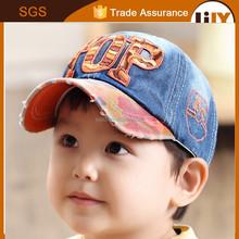 latest plain orange and blue denim cowboy baseball hats and caps