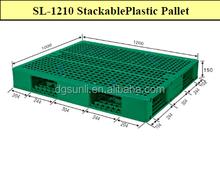 Standard-Raster Doppel- Seite kunststoffpaletten
