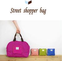 fashion street shopping bag, foldable shopping trolley bag,fashion shopping bag
