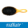 mixed boar bristle wooden brush home use