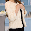 women coats winter 2015, korean style fashion women coat, fur warm women coat