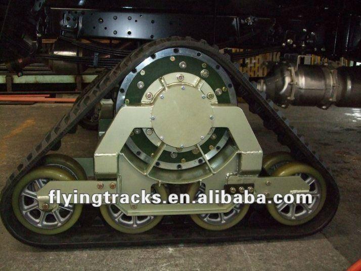 Track Systems For Atv Atv Utv / Rubber Track System