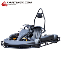 Christmas Selling 168cc single seat gas powered go kart for adults
