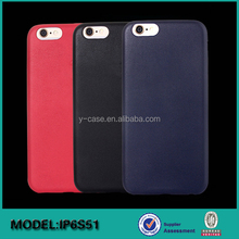 Custom ultra thin leather 4.7 inch mobile back covers for iPhone 6S phone accessories