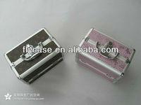 Professional aluminum makeup case for makeup kit