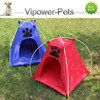 Pet Camping Tent Oxford Pet House Durable Dog House Pet Dog Kennel