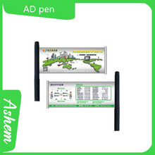 hot sell guangzhou promotion banner pen with cusomized design and free logo printing, DL735