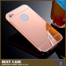 2016 high quality phone case for iphone 5c mirror back cover
