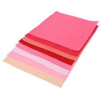 New Arrival High Quality 30x30cm Squares Non Woven Felt Fabric Sheets For DIY Craft Supplies Scrapbooks