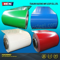 High quality paint over galvanized steel